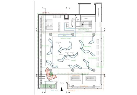 bookstore design floor plan coordination berlin interior by martina zeyen at
