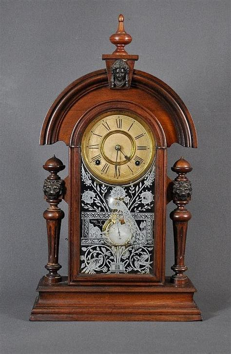 Cottage Clocks by Ansonia Cottage Clock Original Decorative Arts