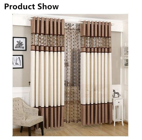 luxury curtain for bedroom kitchen curtains for living
