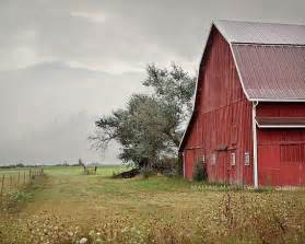 red barn photography old farm country decor rustic wall