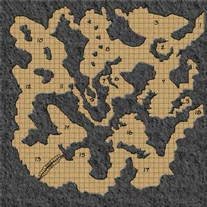 caverns map colour textured cavern maps creative commons licensed