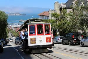 Car Rental San Francisco Russian Hill Panoramio Photo Of Cable Car Going Up Russian Hill San