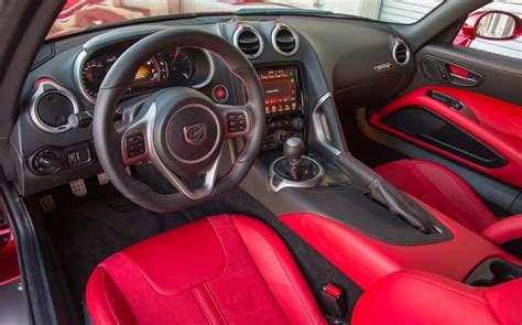 dodge viper 2017 interior 2017 dodge viper end of production srt acr price