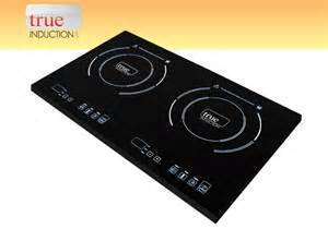 portable double burner induction cooktop