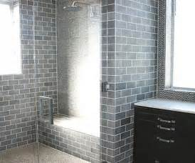 Bathroom Subway Tile Designs by Gray Subway Matte Tile Bathroom Subway Tiles For