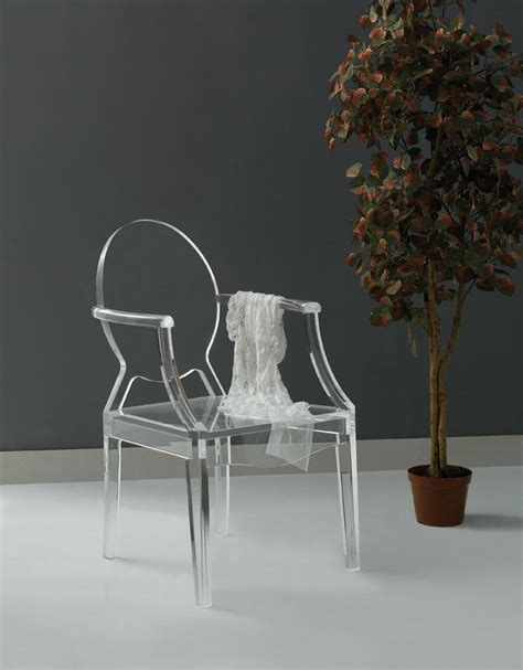 Perspex Dining Chair Modern Simplicity For The Of Leisure