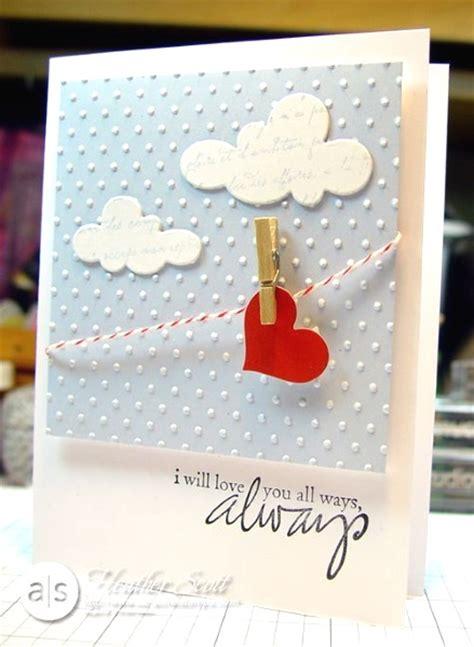 Handmade Creative Cards - adorable valentines day handmade card ideas pink lover