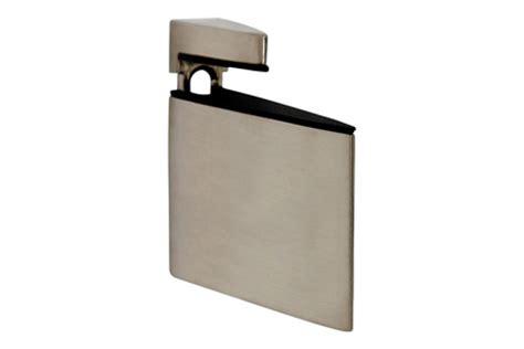 large triangle brushed nickel shelf bracket