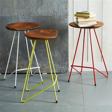 perch bar stool perch counter stool contemporary bar stools and