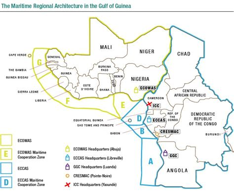 africa map gulf of guinea maritime insecurity in the gulf of guinea threats
