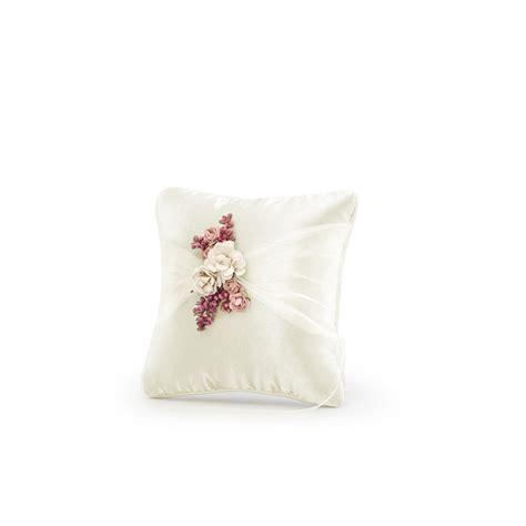 portafedi fiori cuscino portafedi fiori rosa bomboniere matrimonio