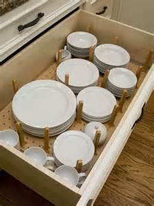 kitchen cabinet plate organizers kitchen drawer plate organizer for the home pinterest
