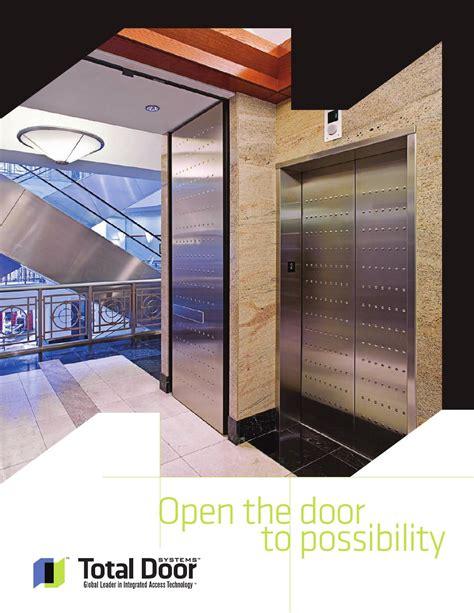 Total Door by Total Door Systems Product Guide By Total Door Issuu