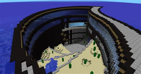 underwater city minecraft pe map minecraft hub
