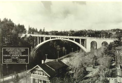 Portland Records Request Center 1922 Proposed Vista Bridge