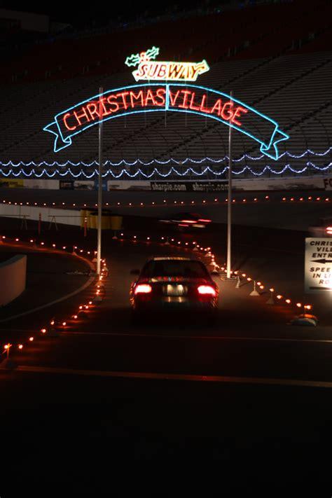 Bristol Motor Speedway Lights by Subway At Bristol Motor Speedway