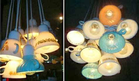 cup lights how to recycle recycled teacups saucer