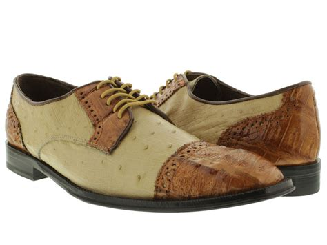 ostrich shoes s dress shoes genuine crocodile ostrich skin oxfords