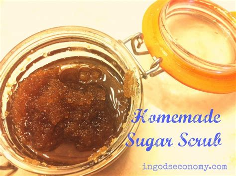 Handmade Sugar Scrub - sugar scrub in god s economy