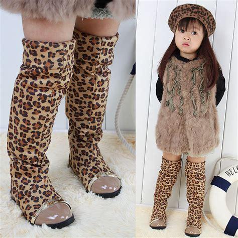 Legging Anak Blue Knee Sale 2016hot sale new fashion autumn winter children leopard
