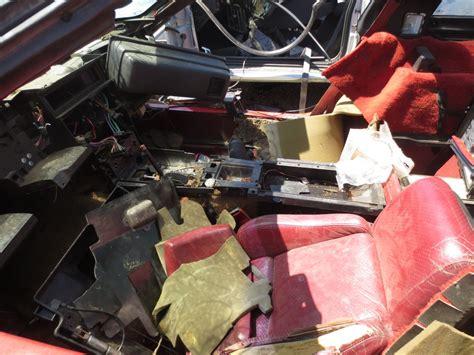 glass door stock vs indeed stock junkyard find 1985 chevrolet corvette the about cars