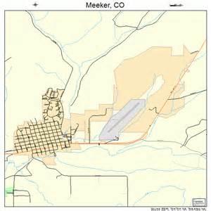 meeker colorado map meeker colorado map 0849875