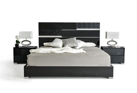 modern italian bed black lacquer bedroom furniture finding