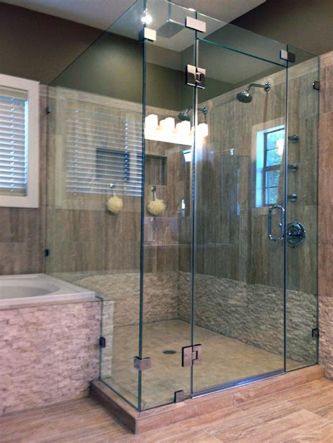 Shower Stall Glass Door Glass Shower Enclosures And Doors Gallery Shower Doors Of
