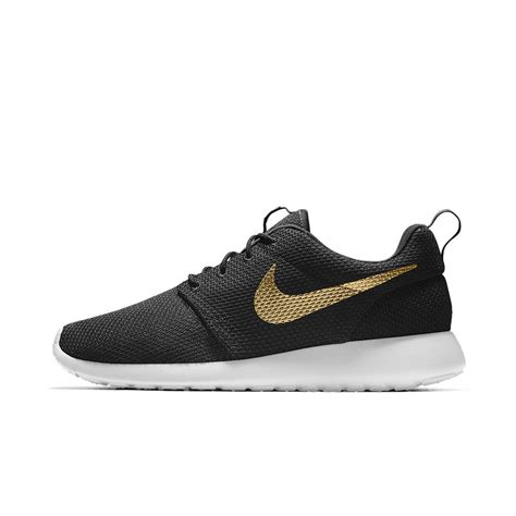 nike roshe run womenmens shoes sale 50 off nike roshe one essential id men s shoe in black for men lyst