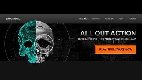 design game web design a game website mockup in photoshop cc part 1