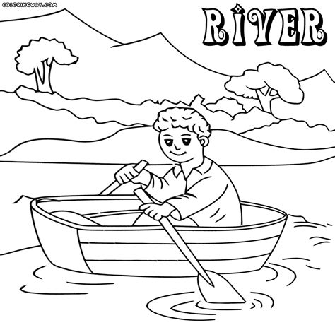 coloring page river river coloring pages coloring pages to and print