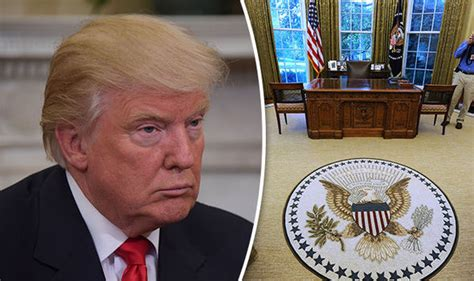 donald trump oval office donald trump won t work from oval office because obama put