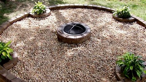 how to make an outdoor firepit backyard pit building tips diy network