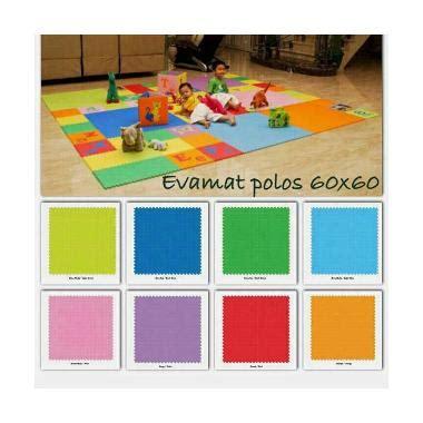 Karpet Evamat Polos jual evamat polos karpet 60 x 60 cm 4 pcs harga
