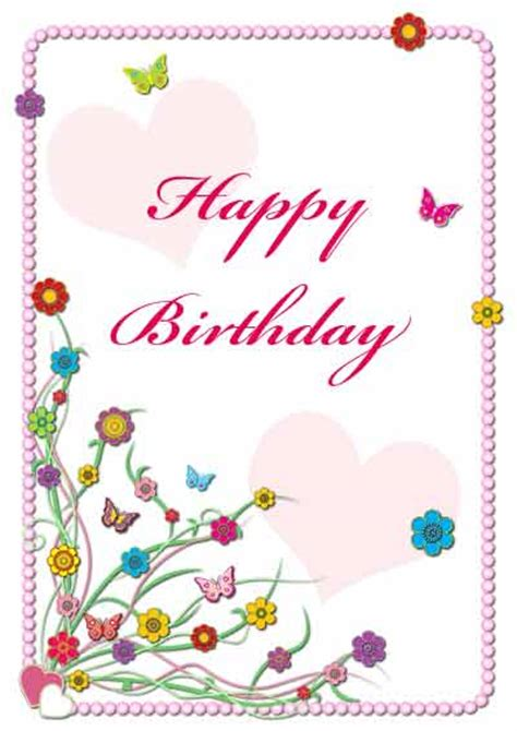 Free Printable Birthday Cards For My Free Printable Birthday Cards For Wife Search Results