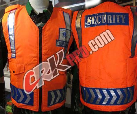 Technovest 0155 Orange Rompi Safety rompi satpam security vest safety service scotlight reflective