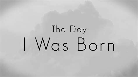 000824409x i was born for this the day i was born youtube