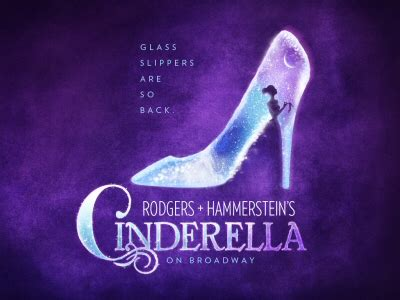 glass slippers are so back cinderella on broadway the glass slipper is back promo