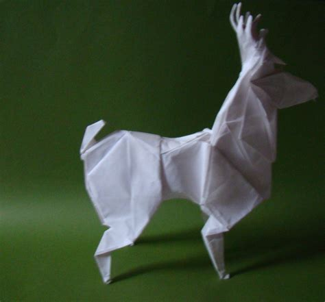 Origami Deer Diagram - origami deer by origamiftw on deviantart