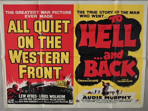film perang all quiet on the western front all quiet on the western front to hell and back