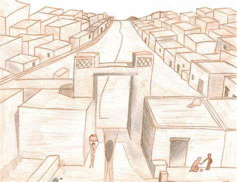 Indus Valley Civilization Drawings