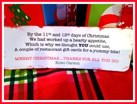12 days of christmas ideas for work marci coombs days 11 12 of the 12 days of