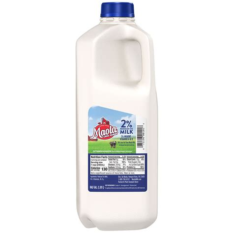 Milk Is 2 reduced milk products maola