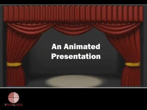 Theater Curtain A Powerpoint Template From Presentermedia Com Microsoft Powerpoint Templates Theatre