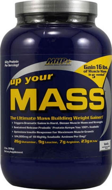 Up Your Mass 46lbs Mhp mhp up your mass mass gainer