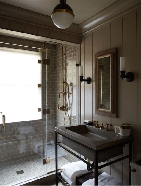 Industrial Bathroom Design | 25 industrial bathroom designs with vintage or minimalist