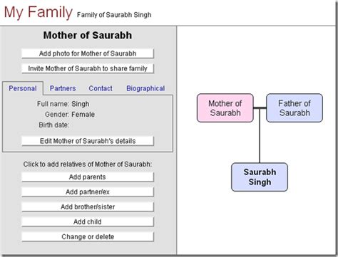 7 best online free family tree and chart maker images on pinterest