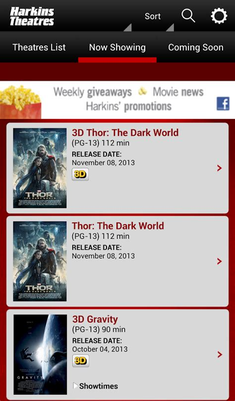 Harkins Theatres Gift Card - harkins theatres android apps on google play