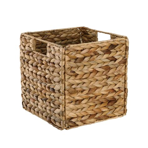 Baskets For Closet Storage by Neu Home Water Hyacinth Basket Baskets Bins Crates Closet
