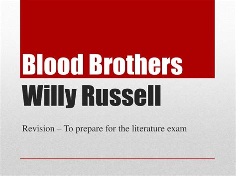 Blood Brothers Essay Help by Pay A Report Writing Premier Homewares Blood